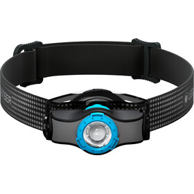Led Lenser MH3 Faro Delantero, black/blue